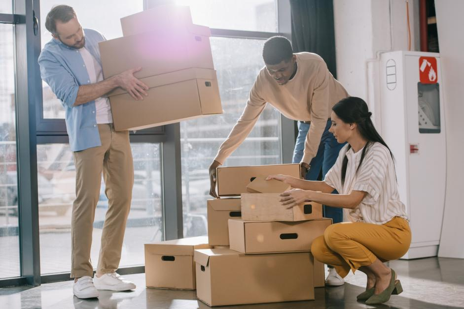 Professionals Movers to manage the packing
